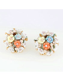Western Multicolor Blink Flowers Ol Design
