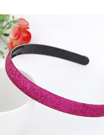 Rosary Plum Red Blink Abrazine Design Plastic Hair band hair hoop