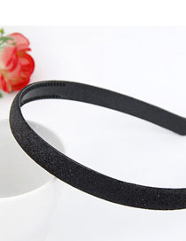 Plussize Black Blink Abrazine Design Plastic Hair band hair hoop