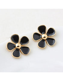 Small Black Sweety Flower Design