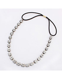 Winter Silver Color Diamond Decorated Simple Design