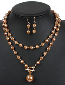 Fashion Gold Color Hollow Out Decorated Jewelry Sets