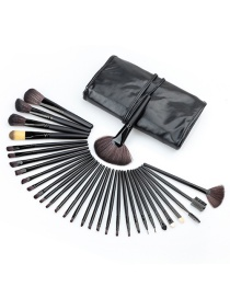Fashion Black Pure-color Decorated Brush