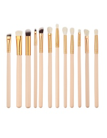 Fashion Beige Pure Color Decorated Brush