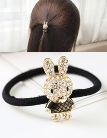 Fashion Gold Color Rabbit Shape Decorated Simple Hair Band