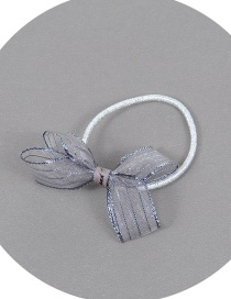 Fashion Gray Bowknot Shape Decorated Simple Hair Band