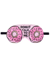 Fashion Multicolor Donuts Pattern Decorated eye patch