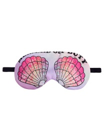 Fashion Multicolor Shell Pattern Decorated eye patch