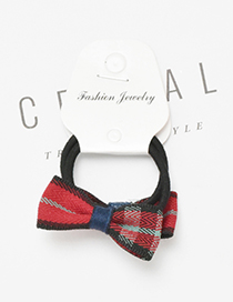 Cute Red Bowknot Decorated Hair Band