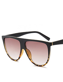Fashion Multi-color Color-matching Decorated Sunglasses