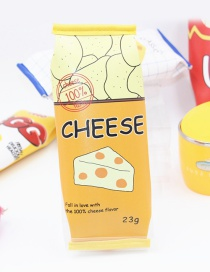 Cute Yellow Cheese Decorated Pencil Case