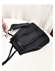 Fashion Black Tassel Decorated Shoulder Bag (2 Pcs)