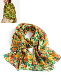 Fashion Multi-color Color Matching Decorated Simple Scarf