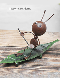Lovely Brown Ant&boating Design Simple Handicrafts