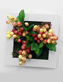 Fashion Yellow Wild Apple Decorated Wall Hanging