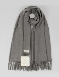 Fashion Gray Tassel Decorated Dual-use Thicken Scarf