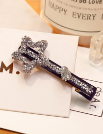 Fashion Silver Color Star Shape Decorated Simple Hairpin