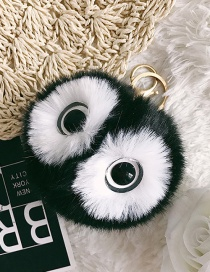 Cute Black Eyes Decorated Key Chain