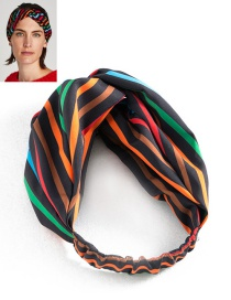 Fashion Multi-color Color-matching Decorated Hair Band