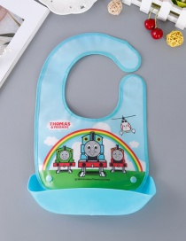 Fashion Multi-color Rainbow Pattern Decorated Bib