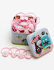 Lovely Multil-color Little Devil Decorated Baby Hair Band(40pcs+box)