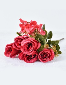Lovely Red Rose Shape Decorated Ornament
