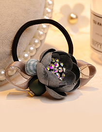 Fashion Gray Flower Shape Decorated Hair Band