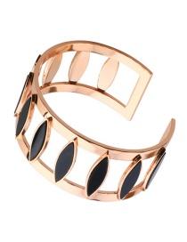 Fashion Gold Color Hollow Out Shape Decorated Bracelet