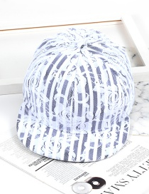 Fashion White Lace Shape Decorated Hat