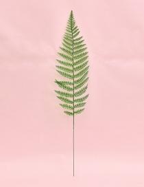 Fashion Green Leaf Shape Decorated Ornament