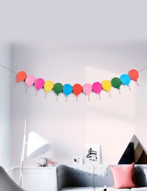 Fashion Multi-color Balloons Decorated Color Matching Ornament