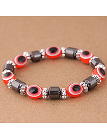 Fashion Red Eye Shape Decorated Bracelet