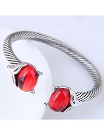 Fashion Red Fox Shape Decorated Bracelet