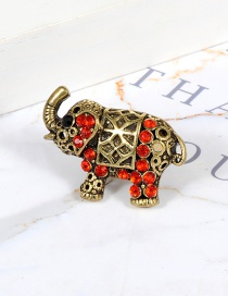 Fashion Gold Color Elephant Shape Decorated Ring