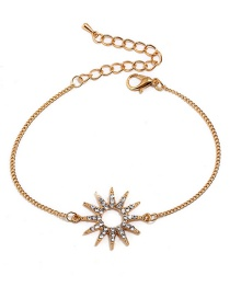 Fashion Gold Color Star Shape Decorated Necklace