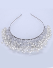 Fashion White Pure Color Decorated Hair Accessories