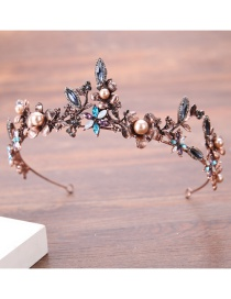 Fashion Antique Gold Flower Shape Decorated Hair Accessories