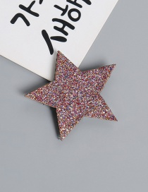 Lovely Multi-color Star Shape Design Child Hair Sticky(1pc)