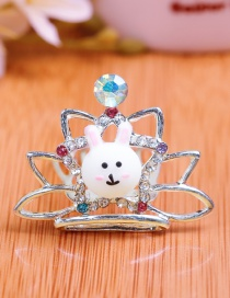 Lovely Multi-color Rabbit&crown Decorated Child Hair Hoop(small)