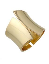 Fashion Gold Color Pure Color Decorated Bracelet