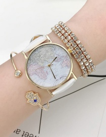 Fashion Gold Color Multi-layer Design Bracelet(4pcs)