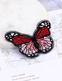 Fashion Multi-color Butterfly Shape Decorated Patch