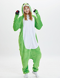 Lovely Green Cartoon Snake Shape Design Pajamas