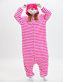 Lovely Pink Cheshire Cat Shape Design Pajamas