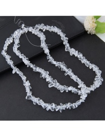 Fashion Transparent Pure Color Decorated Accessories