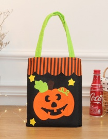 Fashion Multi-color Pumpkin Pattern Decorated Cosplay Bag