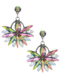 Fashion Multi-color Diamond Decorated Earrings Reviews