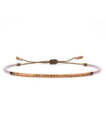 Fashion Multi-color Color-matching Decorated Bracelet