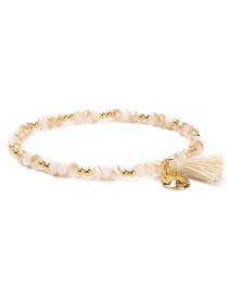 Fashion Champagne Tassel Decorated Bracelet