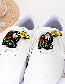 Fashion Multi-color Bird Shape Decorated Shoes Accessories